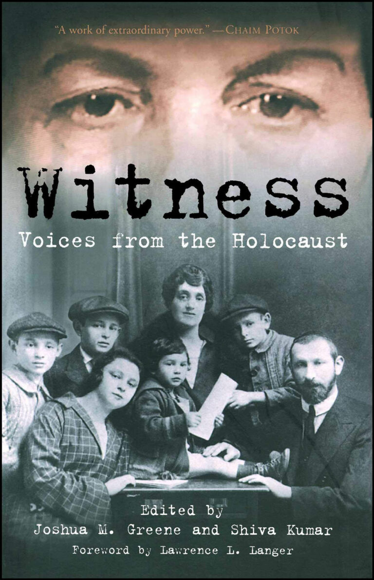 Witness: Voices from the Holocaust Book Cover