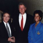 Siggi with President Clinton
